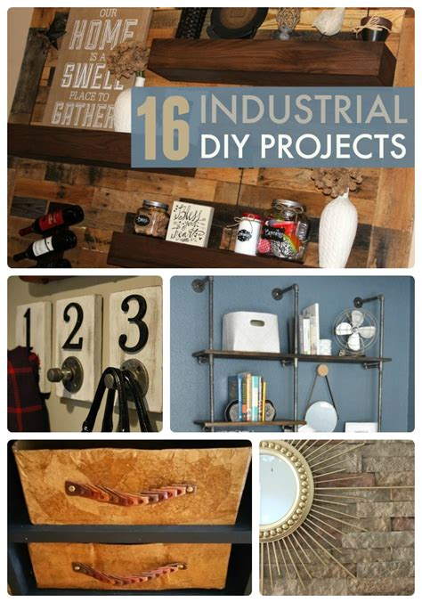 Great Ideas  16 Industrial Diy Projects