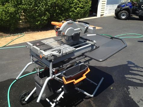 Rigid 7 Tile Saw by Ridgid 10 Quot Variable Speed Commercial Tile Saw Review The