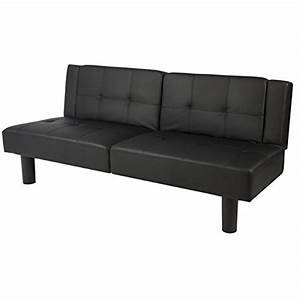 best choice productsr leather faux fold down futon sofa With best folding sofa bed
