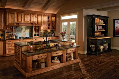 Brown Kitchen Cabinets Modification For A Stunning Kitchen Country Kitchen Syrup Wooden Tables And Chairs Home Kitchens White Floor How To Clean A Kitchener Ontario Postal Code Online Stores Big Lots
