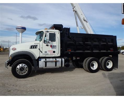 2015 mack granite gu433 heavy duty dump truck for sale