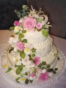 wedding cake flowers decorations living