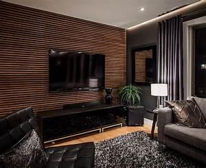 Wohnzimmer Tv Wand Ideen : 33 moderne tv wandpaneel designs und modelle wohnzimmer wohnzimmer wandverkleidung und ~ Orissabook.com Haus und Dekorationen