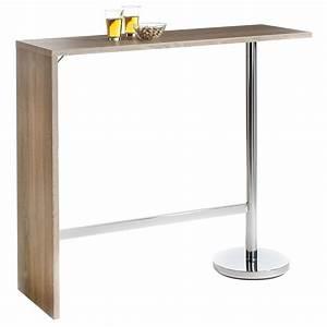 Bar Mange Debout : table haute de bar mange debout mdf 3 coloris disponibles ebay ~ Teatrodelosmanantiales.com Idées de Décoration