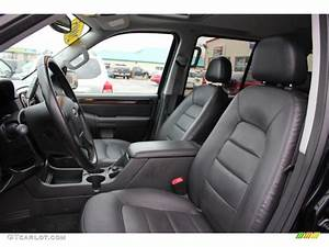 Midnight Grey Interior 2005 Ford Explorer Limited 4x4