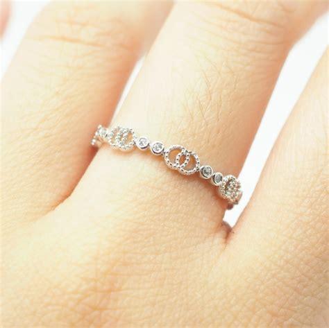 cute simple wedding ring silver simple ring vintage ring cute ring bridesmaid