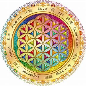 """""""The Flower of Life"""" Stickers by Lilyas Redbubble"""