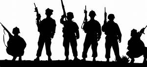Standing Soldiers Clip Art at Clker.com - vector clip art ...