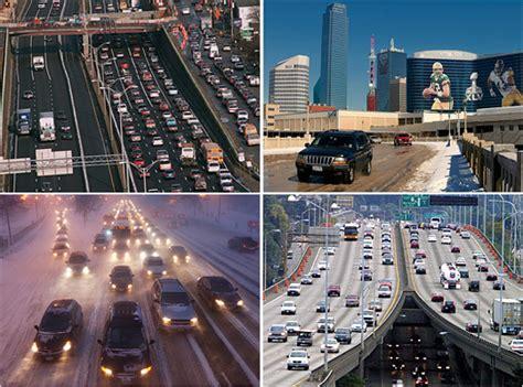 cities   worst traffic jams bostoncom