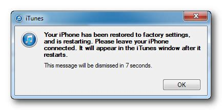 how to return iphone to factory settings how to restore your iphone to factory settings using