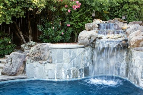 concrete waterfalls design 80 fabulous swimming pools with waterfalls pictures