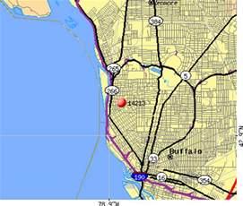 Buffalo NY Zip Code Map