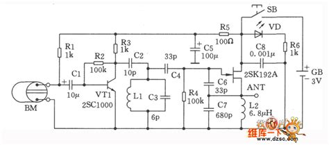 Fet Wireless Microphone Circuit Communication