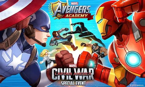 captain america civil war  marvels games