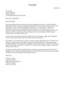 Cover Letter For Funding Grant Cover Letter Sle Sle Business Letter