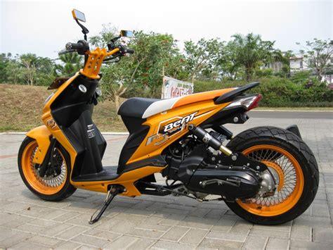 Modifikasi Honda Beat Hitam Thecitycyclist