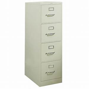 hon used letter sized 4 drawer vertical file putty With hon 4 drawer letter file cabinet
