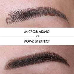 difference  microblading  powder effect microblading   manual method