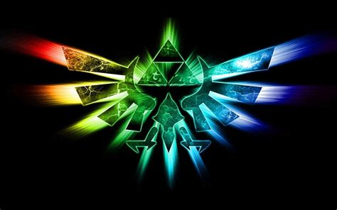Legend Of Background Triforce Backgrounds Wallpaper Cave
