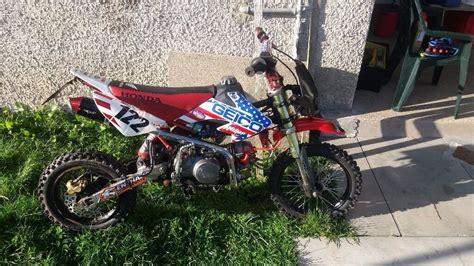 Race Honda Pit Bike Crf Size Rapid Aberdeen