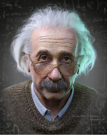 Portrait Einstein Albert 3d Jooinn Male