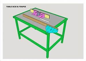 Table De Sciage : plan table pour scie circulaire et d fonceuse par hubert ~ Dode.kayakingforconservation.com Idées de Décoration