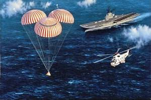 Apollo 11 liftoff to splashdown - Why does rice play Texas