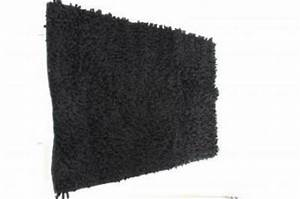 tapis salle de bain noir With tapis bain noir