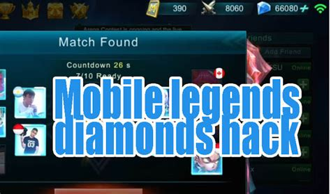 Cheat Mobile Legends Diamonds Terbaru