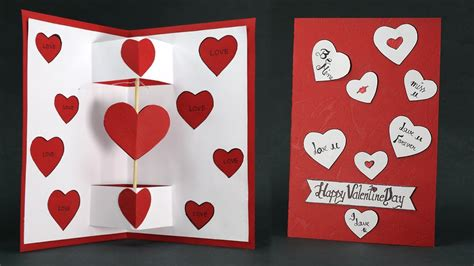 Make Valentine Card Step by Step