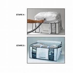 Housses De Rangement Sous Vide : promo compactor lot de 2 housses compactor 210 litres xxl compactor rangement sous vide pas cher ~ Nature-et-papiers.com Idées de Décoration