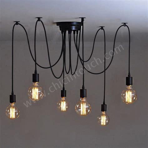 โคมไฟต ดเพดาน ร น 6 bulb chandelier c0806 หลอดไฟว นเท
