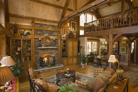 at home interiors log home interiors
