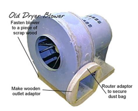 wood dust collection duct
