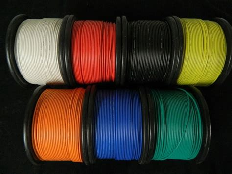 16 gauge wire 7 colors 25 ft each primary awg stranded