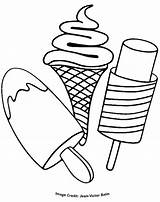 Ice Cream Coloring Pages Colouring Printable Google Sundae Sheets Cone Print Thekidzpage Treats Popsicle Truck Adult Colors Pop Enjoy Books sketch template