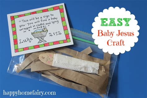 baby jesus craft for preschoolers easy baby jesus craft free printable happy home 401