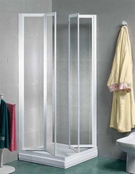 cabine doccia per disabili box doccia 2 lati a scomparsa in acrilico 3 mm e alluminio