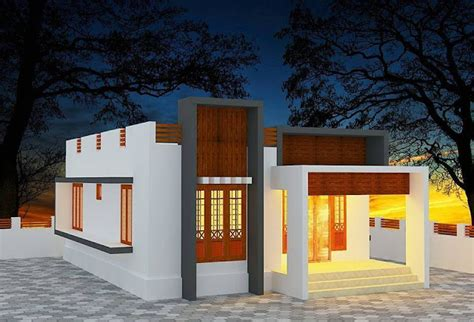 desain rumah modern  lantai kekinian elegan