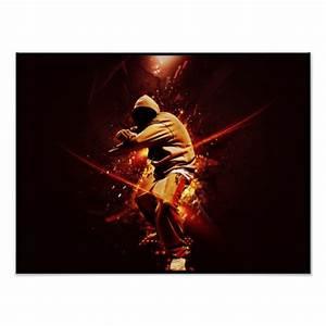 Hip Hop Klamotten Auf Rechnung : hip hop breakdancer auf feuer plakate zazzle ~ Themetempest.com Abrechnung
