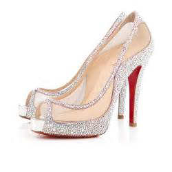christian louboutin wedding shoes the 2013 christian louboutin bridal collection stylish