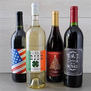 Make your own holiday wine labels because it39s for How to create your own wine brand