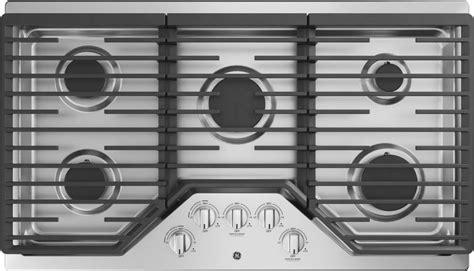 ge jgpslss  built  gas cooktop  max burner system power boil burner simmer burner