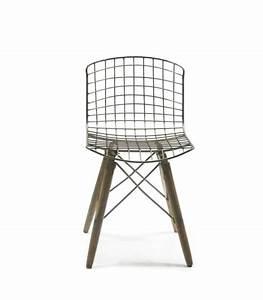 Chaise Fer Et Bois : chaise style industriel en m tal vintage fer ~ Teatrodelosmanantiales.com Idées de Décoration