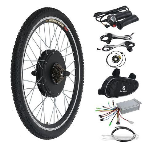 E Bike Electric Motor by 36v 500w Electric Bicycle E Bike Motor Conversion Kit Rear
