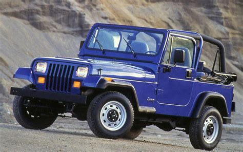 jeep yj the four most iconic american trucks and suvs truck trend