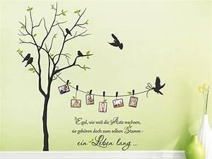 Wandtattoo Baum Mit Bilderrahmen : baum mit fotorahmen und sprichwort in 2019 ideen rund ums haus pinterest ~ Eleganceandgraceweddings.com Haus und Dekorationen