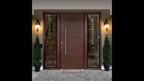 desain pintu rumah minimalis elegan youtube