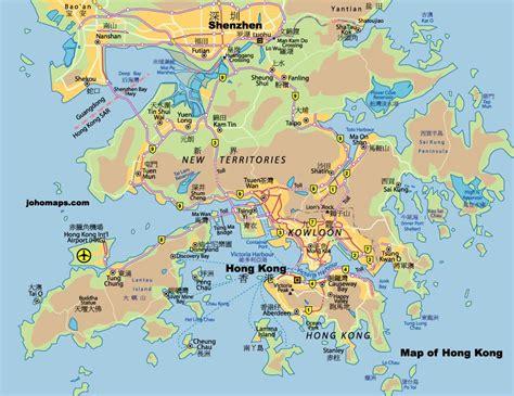 map  hong kong  printable maps