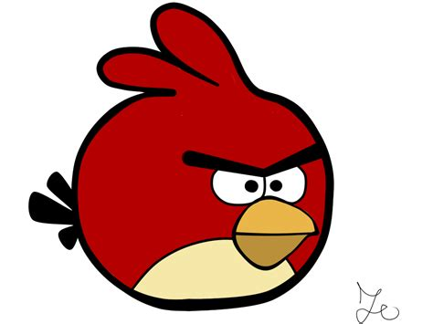Image Without Background Angry Bird Without Background By Zombiekiller787 On